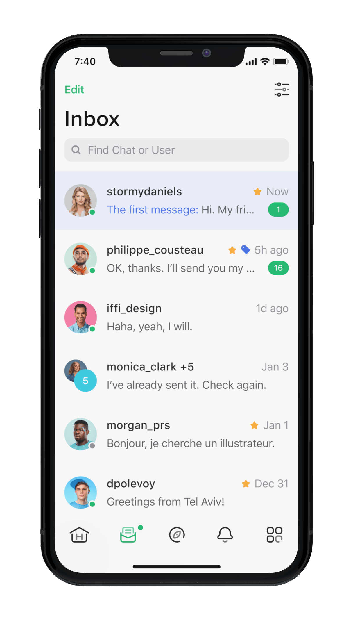 01-Inbox_First message